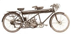 Tandem MR Aubier et Dunne 100cc 2 vitesses