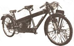 Tamdem Narcisse Aubier et Dunne 100cc 2 vitesses