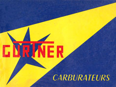 Carburateur Gurtner
